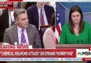 Sarah Sanders Fact Checks Acosta After He Presses Her On Trump's 'Nobody Has Been Tougher On Russia' Claim (VIDEO)