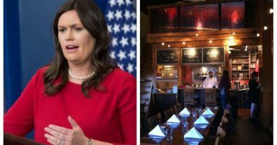 OWNER OF RED HEN RESTAURANT THAT TOSSED OUT SARAH SANDERS GETS BAD NEWS FROM HISTORIC LEXINGTON