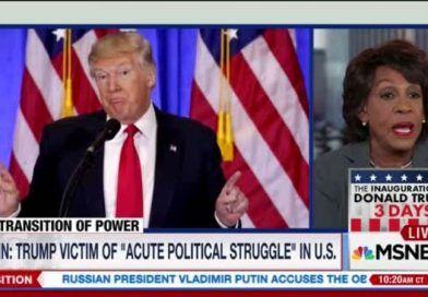 Trump BITES BACK At Maxine Waters For Encouraging Violence Against His Supporters