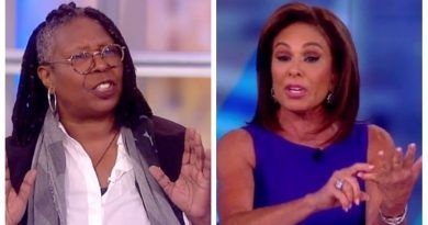 Judge Jeanine Claims That Whoopi Goldberg SPIT On Her Off Stage And Screamed 'Get The F**k Out Of This Building (Audio)