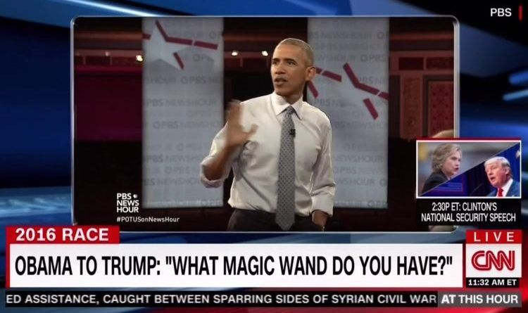 Image result for obama what magic wand do you have