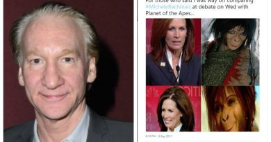 Bill Maher Posts Racist Photos Comparing GOP Politician to 'Planet of the Apes' Monkey – MSM Silent!