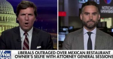 TV Host Calls Sessions Hypocrite For Enjoying Mexican Food – Tucker's Response Is Hilarious! (Video)