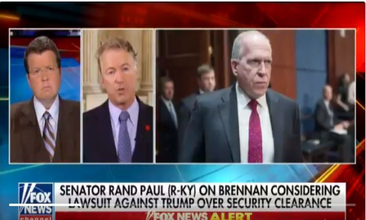 Rand Paul Smacked Brennan With Harsh Dose Of Reality After He Threatened To Sue POTUS For Revoking His Security Clearance (VIDEO) - Conservative US