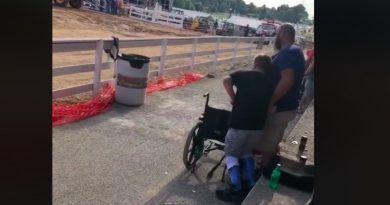 Boy In Wheelchair Puts Anthem Protesters To Shame With A Patriotic Gesture (VIDEO)