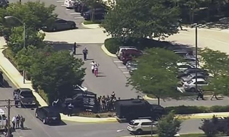 Multiple People Killed In Maryland Shooting (Video)