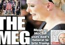 New York Post' Cover Mocks Meghan McCain After She Unloaded On Trump In Awful Funeral Speech To Her Father