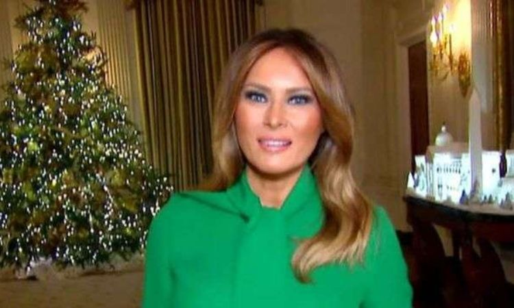 After Tons Of Backlash, Melania Drops Knowledge On Media About Her Controversial Christmas Decorations! (Video)