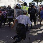 Exclusive Video: Migrants Storm U.S. Border