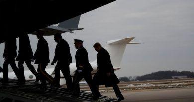 HEARTBREAKING! Trump, Pompeo Greet The Bodies Of Fallen Americans
