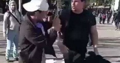 LEFTIST VIOLENCE ON CAMPUS!!! Conservative Student Attacked at UC Berkeley (Video)