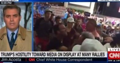 WATCH! CNN Hack Jim Acosta Whines About Trump Supporters Making Fun of Him at Rallies