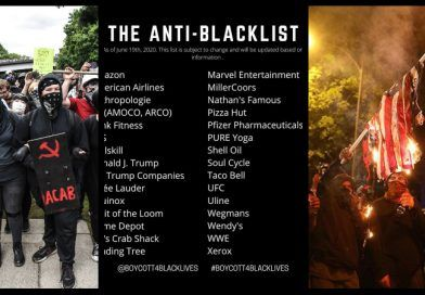 The List – BLM Urges People To Stop Spending In Companies That Don't Support BLM And Antifa Riots