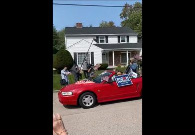"Video: Dems Counter Huge Trump Boat Parades With A ""Massive"" Parade Of Three Cars For Biden"