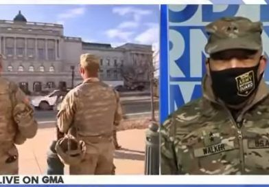 Head of DC National Guard Says That The National Guard Is Helping With Peaceful Transition Of MILITARY POWER (Video)