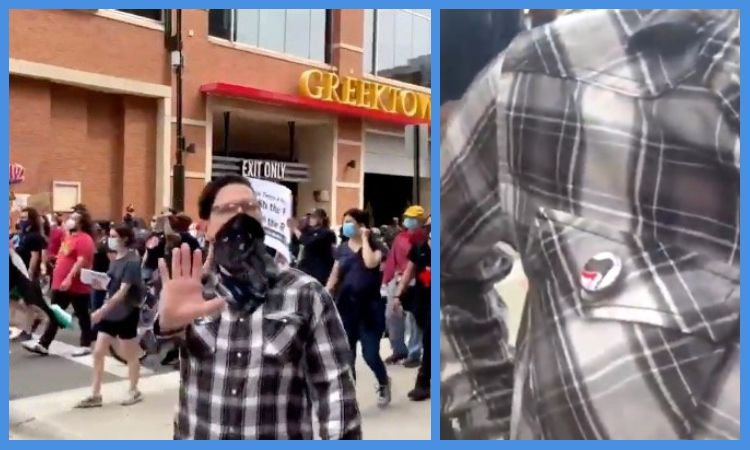 Videos: Antifa-BLM Violently Attack Reporter During Anti-Eviction March – No MSM Coverage