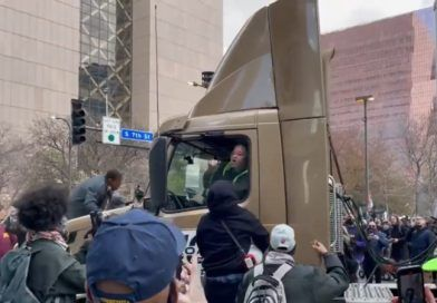 Videos: BLM Mob Attacks Truck, Just Minutes After Getting The Verdict They Wanted – The Truck Drove Through The Crowd