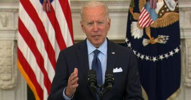 """Video: Joe Biden Struggles To Read Teleprompter During Covid Speech Tells Americans To Visit """"vaccines.gum .gov"""" And To Continue Following """"CCD"""" Guidance"""