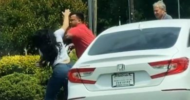 Welcome To Biden's America – Viral Video Shows Man And Woman Fight, Spit At Each Other At A Gas Station Amid Panic-Buying