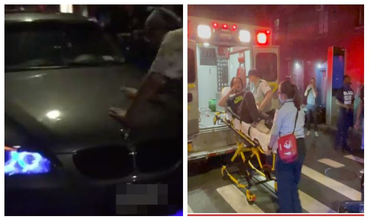 Video: Car Plows Through Crowd Of Anti-Cop Protesters And Injures Cop And A Demonstrator