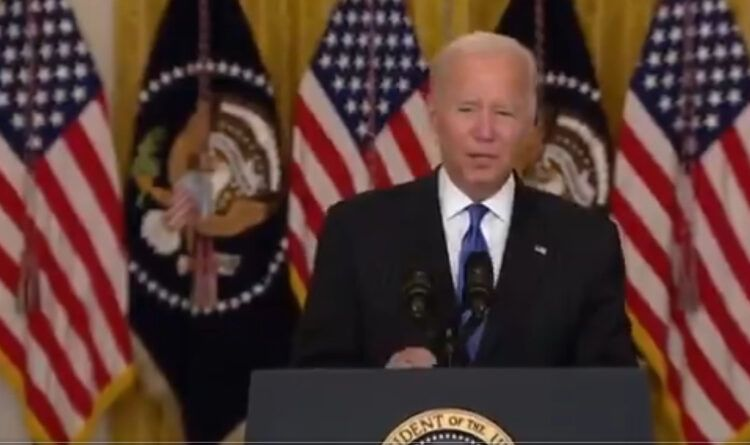 Joe Biden Slurs His Words, Mumbles During His Latest Speech, But This Time He Was Brave Enough To Apologize For It (Video)