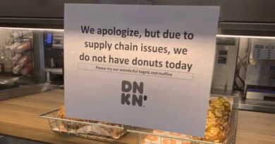 Photo: 10 months Into Brandon's Fake Presidency And Dunkin' Donuts Has No Donuts