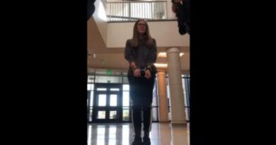 Video: 16 Yr Old Wyoming Student Handcuffed & Arrested For Refusing To Wear Face Mask, Entire School Placed On Lockdown